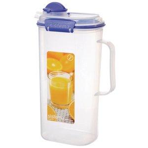 XXLselect Klip-It Juice jug | Stackable | 17x11x27,5cm | 2 Liter