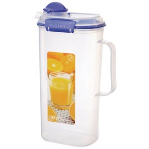 XXLselect Klip-It Saftbehälter | Stapelbar | 17x11x27,5cm | 2 Liter