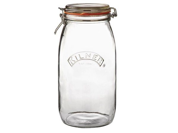 XXLselect Kilner Conservenpot | With Buckle Closure | Airtight | Available in 6 sizes