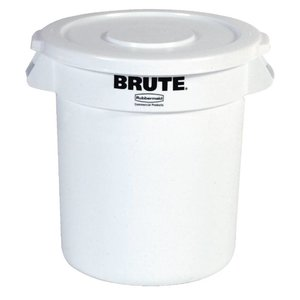XXLselect Rubbermaid Container Weiß | Ø39,5x (H) 43,5cm | 38 Liter