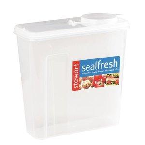 XXLselect Seal Fresh Voedseldoos | Ontbijtgranendispenser | 23x10x23cm | 375 gram