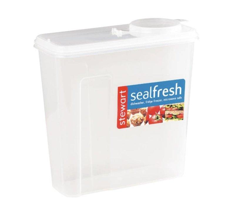 XXLselect Seal Fresh Food Box | Breakfast Gran Dispenser | 23x10x23cm | 375 grams