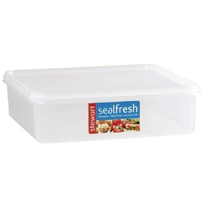 XXLselect Siegel Fresh Food Box | Pizza Container | 7,5x25x25x20cm | 3,5 Liter