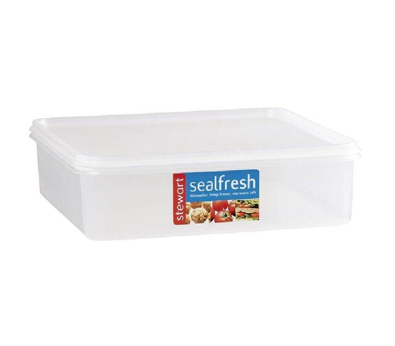 XXLselect Seal Fresh Food Box | Pizza Container | 7,5x25x25x20cm | 3.5 Liter