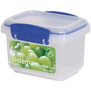 XXLselect Klip-it VoedselBox   Stapelbaar   12x9x8cm   0,4 Liter