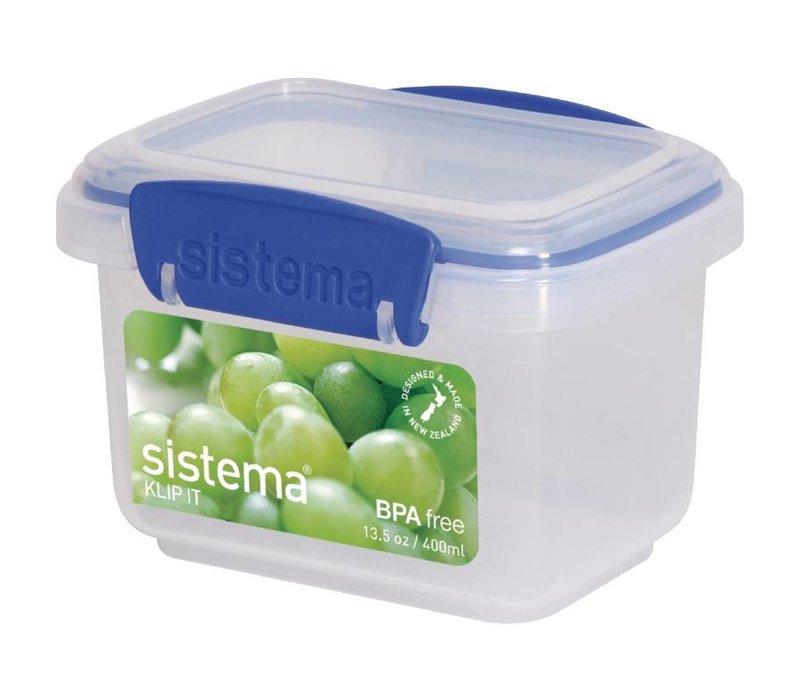 XXLselect Klip-it VoedselBox | Stapelbaar | 12x9x8cm | 0,4 Liter