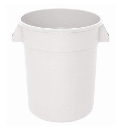 XXLselect Vogue weißen runden Lizenz Container | Ø39,8x (H) 43,4cm | 38 Liter