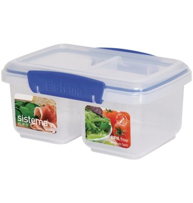 XXLselect Klip-It Garküche | Split Basis | Stapelbar | 18x12x8cm | 1 Liter