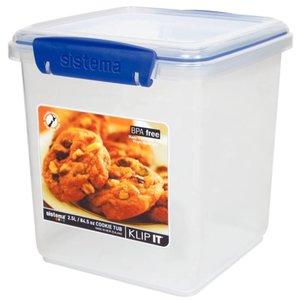 XXLselect Klip Es Container | Stapelbar | Mit abnehmbarer Rack | 2,3-Liter-