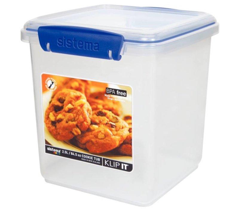 XXLselect Klip It Container | Stapelbaar | Met uitneembaar Rek | 2,3 Liter