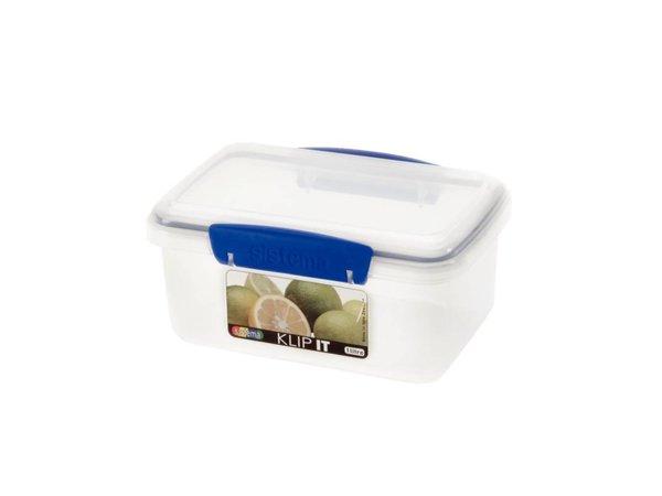 XXLselect Clip-it food stall | Stackable | 17,5x11,7x8cm | 1 Liter