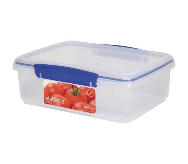 XXLselect Clip-it food stall | Stackable | 23,5x17x8cm | 2 Liter