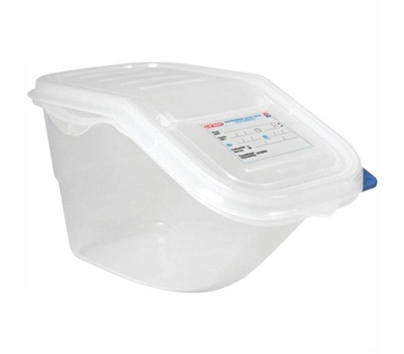 XXLselect Araven Vorratsbehälter   GN 1/3   39,5x20x (H) 20 cm   7 Liter