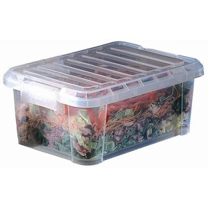 XXLselect Araven Polypropylene Voedseldoos | Met Deksel | 38x26,5x15,5cm | 9 Liter