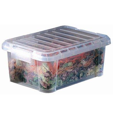 Araven Araven Polypropylene Food Box   With Lid   38x26,5x15,5cm   9 liter