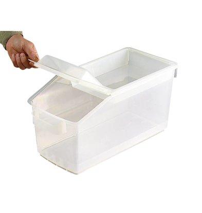 XXLselect Araven Ingredientenbak | Abnehmbare Abdeckung | 48x22,7x (H) 23cm | 14 Liter