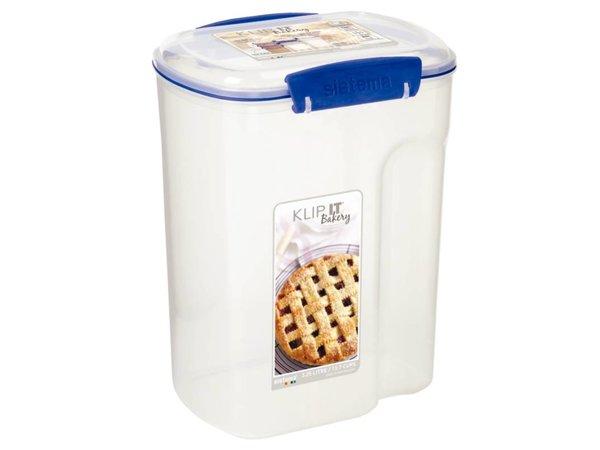 XXLselect Klip-It BroodBox | Cereals | Stackable | 17,6x13,2x (H) 23cm | 3.25 Liter