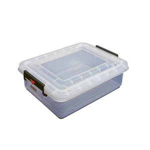 XXLselect Araven Stock Container   With Lid   53x40x (H) 23cm   31 Liter
