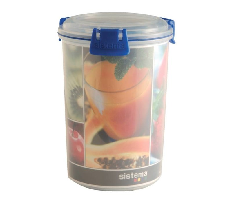 XXLselect Klip-It Food Box in der Umgebung - Sauspot - 16x11Øcm   1 Liter