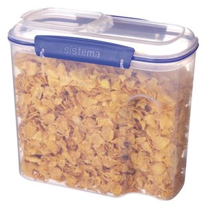 XXLselect Clip-it Cereals | Stackable | 22x11,5x20cm | 2.8 Liter