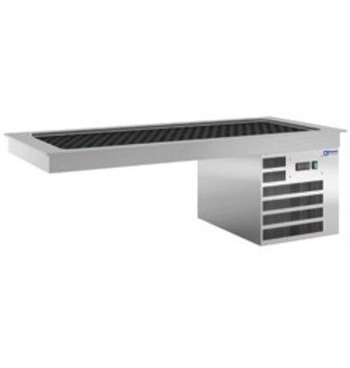 Diamond Koelplaat 4 x 1/1GN - Waterdicht - 0,5 kW - 1440x610xh510mm