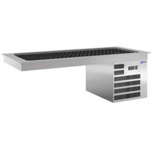 Diamond Cooling Plate 2 x 1 / 1GN - Waterproof - 0.5 kW - 805x635x (H) 480mm