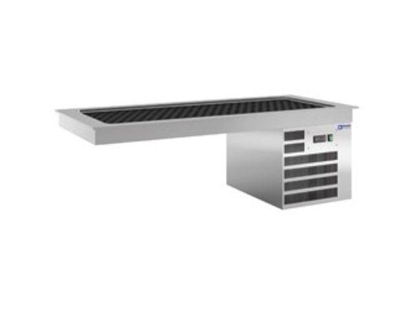 Diamond Koelplaat 2 x 1/1GN - Waterdicht - 0,5 kW - 805x635x(h)480mm