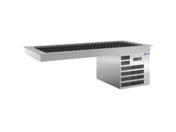 Diamond Kühlplatte 2 x 1/1 GN - Wasserdicht - 0,5 kW - 805x635x (H) 480mm