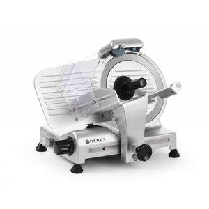 Hendi Vleessnijmachine van Aluminium BASIC | 410x400x(H)350mm | 230V | 320W | Ø 220 mm