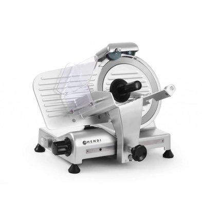 Hendi Vleessnijmachine van Aluminium BASIC | 410x400x(H)350mm | 230V | 280W | Ø 220 mm