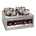 XXLselect Food Warmer | 4x4,5 Liter | 660W | 29x50x50cm (HxLxW)