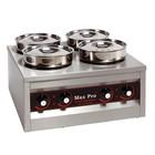 XXLselect Foodwarmer | 4x4,5 Liter | 660W | 29x50x50cm (HxLxB)