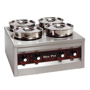 XXLselect Food Warmer | 4x4,5 Liter | 660W | 29x50x50cm (HxLxW)
