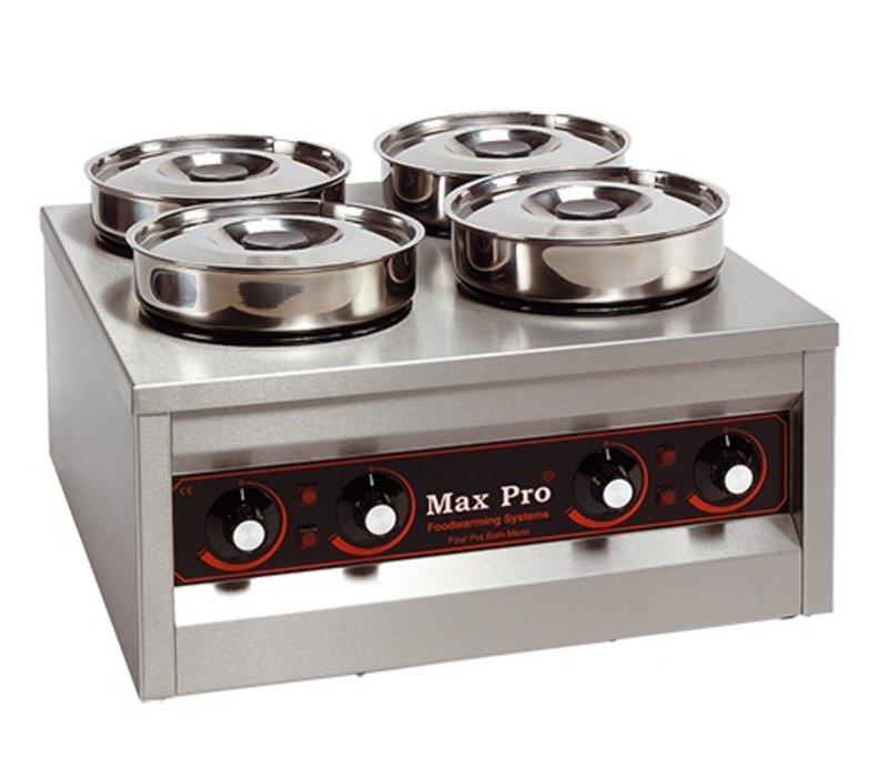 Xxlselect food warmer 4x4 5 liter 660w 29x50x50cm for Cuisine 4x4