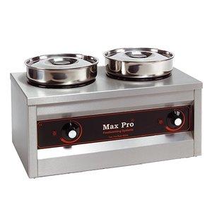XXLselect Food Warmer   2x4,5 Liter   29x50x26cm (HxLxW)   330W