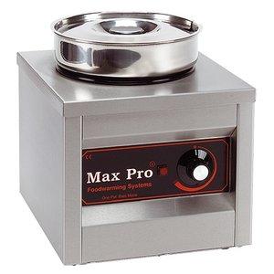 XXLselect Foodwarmer   RVS   1x4,5 Liter   29x26x26cm (HxLxB)