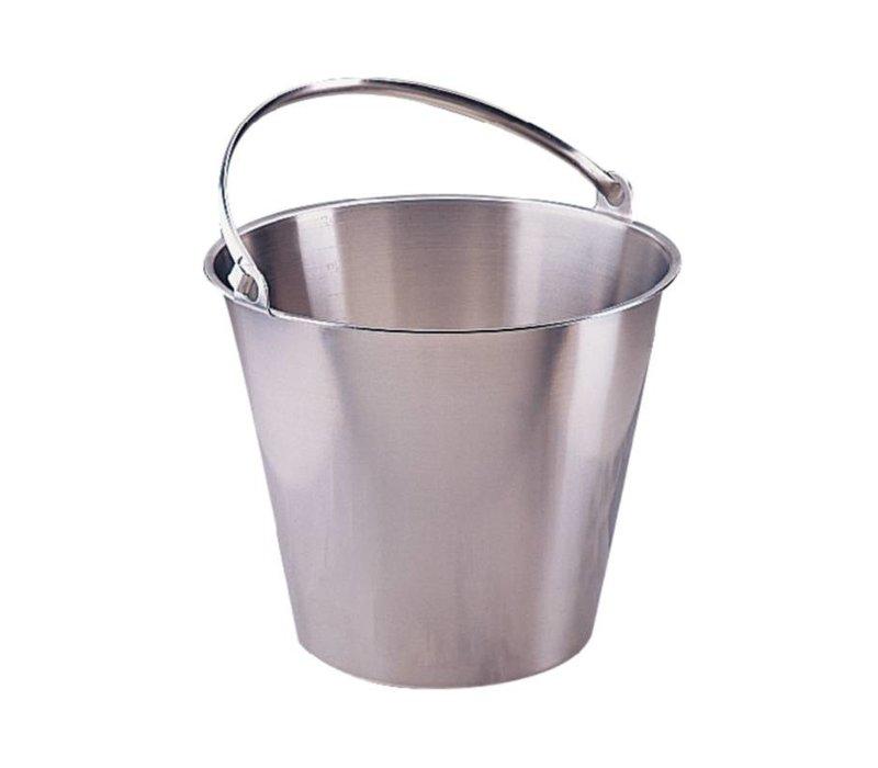 XXLselect RVS Emmer 12 Liter