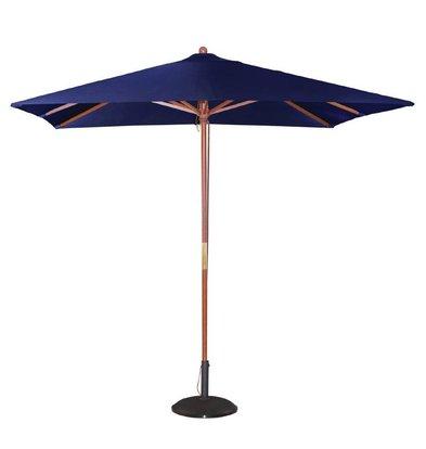 Bolero Sonnenschirm Platz mit Riemenscheiben-Mechanismus - Farbe Blau - 2,5 m Durchmesser
