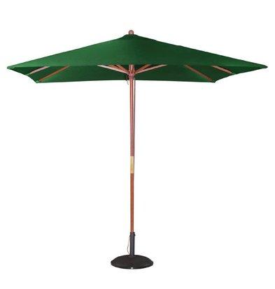 Bolero Sonnenschirm Platz mit Riemenscheiben-Mechanismus - Farbe Grün - 2,5 Meter Durchmesser