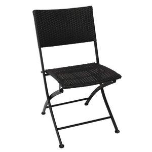 Bolero Faltbare Wetter Rattan Chair - Preis pro 2 Stück