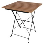 Bolero Polywood Folding Square Wooden Table - 60x60cm