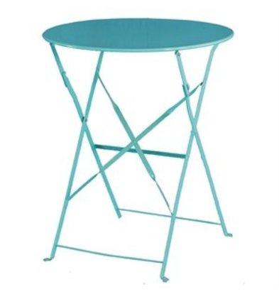 Bolero Scharnierplatten Round Table Blue - 71 (H) x60 (Ø) cm