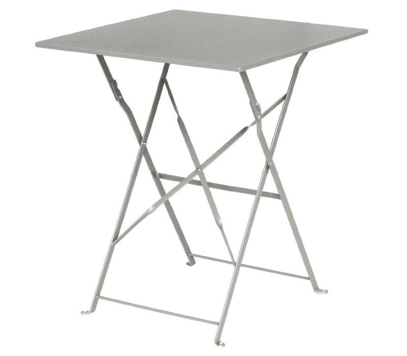 Bolero Scharnier Stahlgrau-Platz Tabelle - 71 (H) x60x60cm