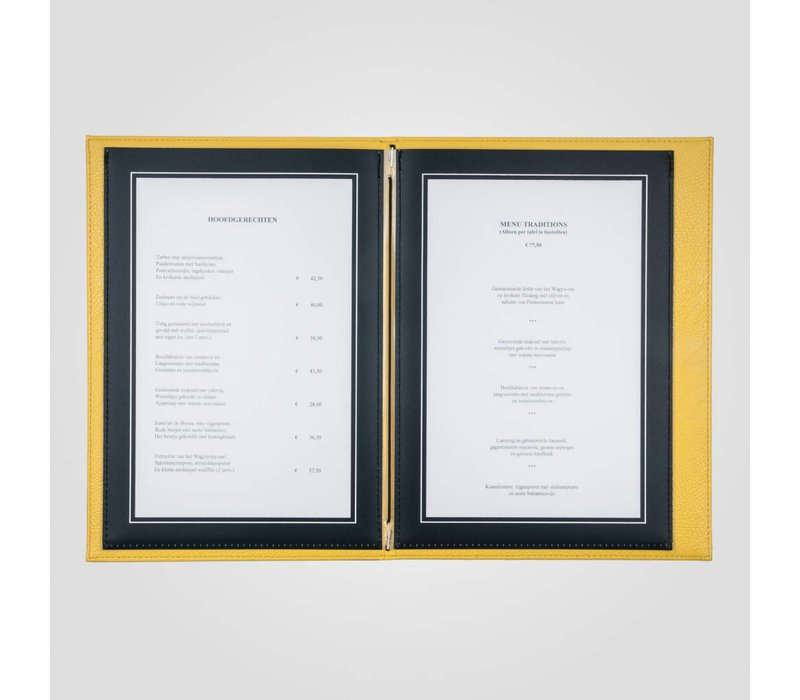 XXLselect Menü Trendline Farbe - Creme A5