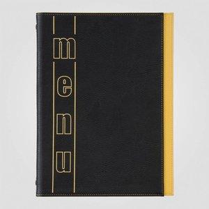 XXLselect Menukaart Trendline Color - Geel A5