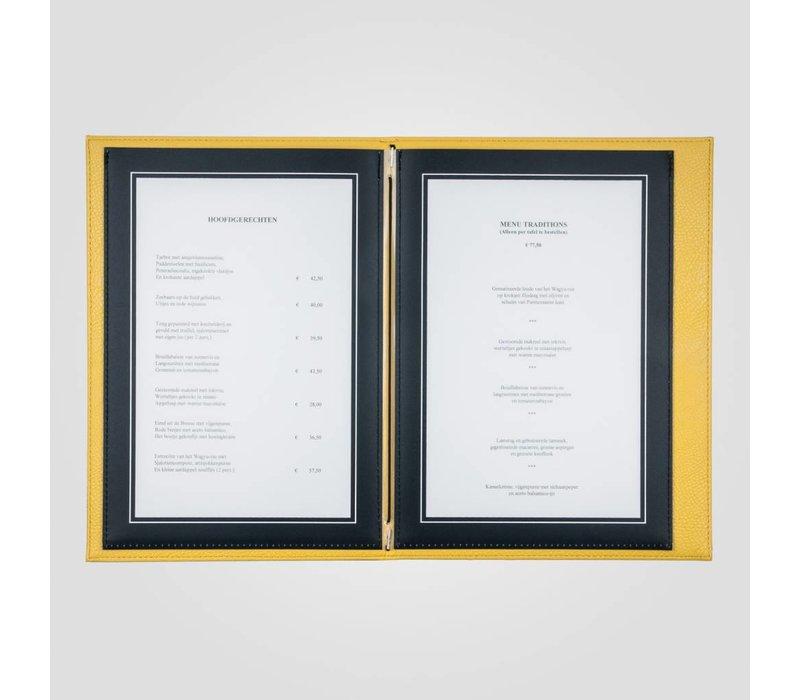 XXLselect Menü Trendline Farbe - gelb A5