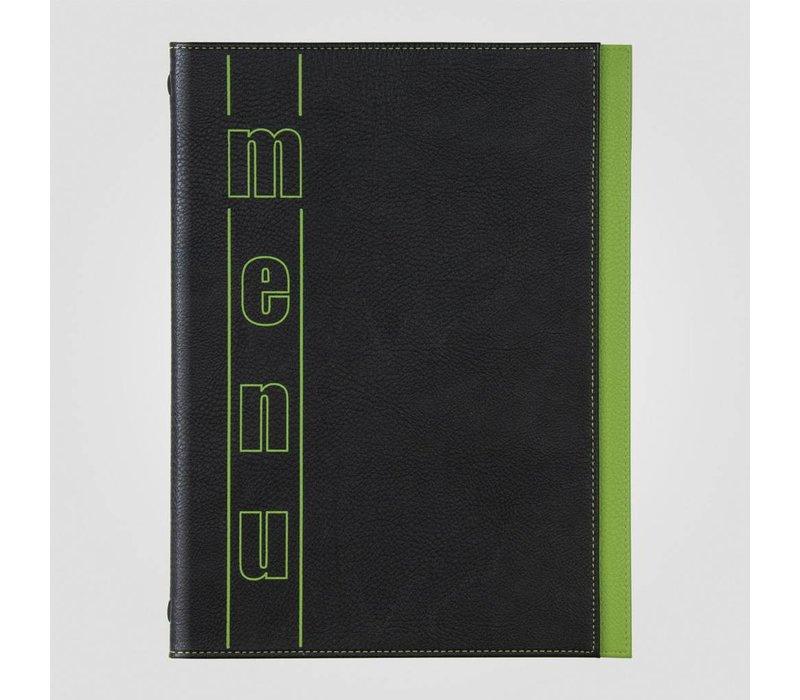 XXLselect Menukaart Trendline Color - Groen A5