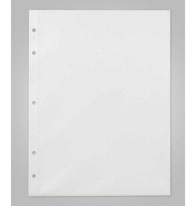 XXLselect Insteekhoezen Deluxe - A4 - 2 Leeszijdes - Prijs per 10 stuks