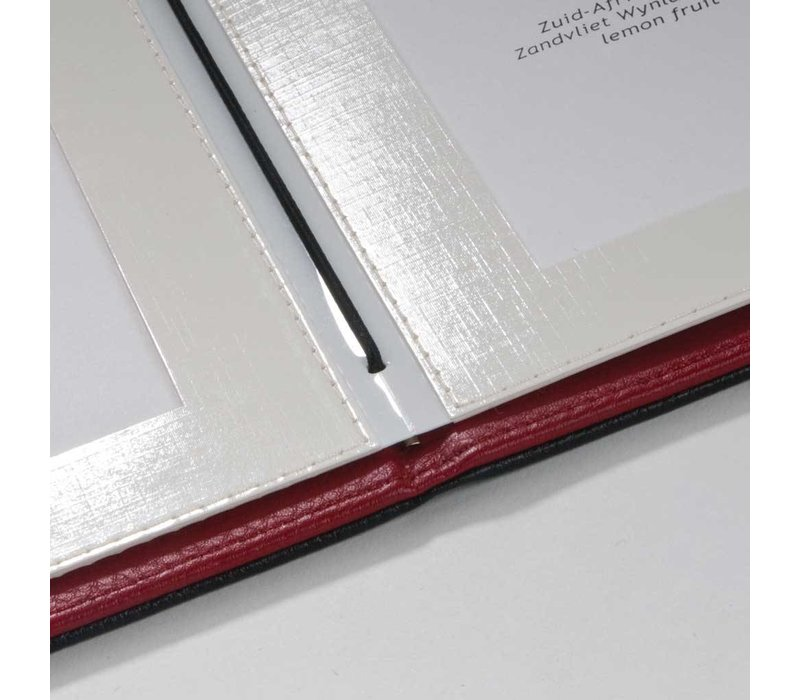 XXLselect Passepartout A4 Black - Deluxe - 4 Lese Seiten