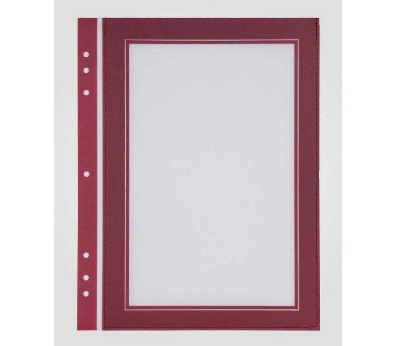 XXLselect Passepartout Red Square Format